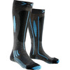 X-Bionic Effektor Race Ski Socks Ladies Grey/Black/Turquoise